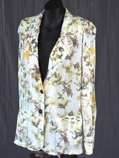 Viscose Hand-wash Only Floral Coats & Jackets for Women