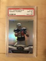 2011 TOPPS PLATINUM DEMARCO MURRAY #114 PSA 10 RC ROOKIE