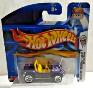 MATTEL HOT WHEELS HIGHWAY 35 2003 FIRST EDITIONS MEYERS MANX SEALED BLISTER PACK