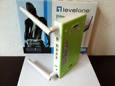 Level ONE wbr-6020 Wireless Router 300 Mbps, Green IT, B-Ware, Linux, Apple, Neuw