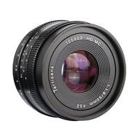 7artisans 50mm F1.8 Manual Focus Lens for Panasonic Olympus m43 MFT mount Camera