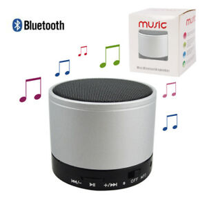 Portable Bluetooth Wireless Mini Super Bass Speaker for Smartphone Tablet or PC