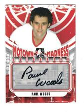 2012-13 ITG MOTOWN MADNESS Paul Woods AUTOGRAPH CARD SIGNED