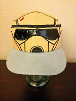 Disney New Era Star Wars Storm Trooper 59Fifty Fitted Hat Cap Size 7 - 55.8cm
