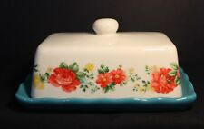 Covered Butter Dish - PIONEER WOMAN - Exclusive, only sold with Dish Set