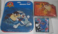 Taz Tasmanian Devil Mousepad By Fellowes 1999 Edition + Solar Calculator +