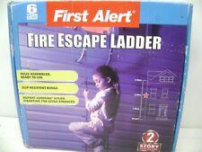 NEW FIRST ALERT 2 STORY 14' EMERGENCY FIRE ESCAPE LADDER