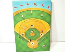 Speaking Birthday Greeting Card with attached Ball Bearing Baseball Game