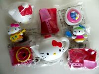 Lot de 8 jouets collection HELLO KITTY happy meal McDonald's  neuf