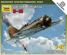 6254 SOVIET POLIKARPOV I-16 FIGHTER - ZVEZDA 1/144 RUSSIAN - WW2 FLAMES OF WAR