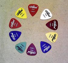 10 Plettri Alice per chitarra e strumenti a corda - mm 0,71
