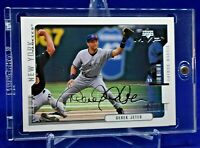 DEREK JETER UPPER DECK SILVER SIGNATURE SCRIPT PARALLEL RARE SP NEW YORK YANKEES