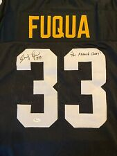 Frenchy Fuqua Pittsburgh Steelers Signed Jersey - JSA COA Authentication