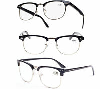 Unisex READING GLASSES +0.5 +1.00 +2.00 +3.00 +4.00 Eyeglasses