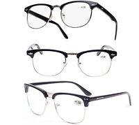 Unisex READING GLASSES +0.5 +1.00 +2.00 +3.00 +4.00 Eyeglasses Vintage Retro