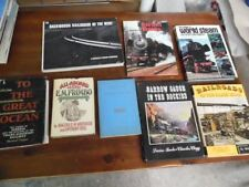 Railroad History Book Lot of 8 Kalmbach Fielder Black Hills Vintage Coffee Table