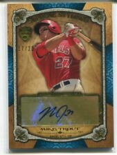 2013 TOPPS SUPREME MIKE TROUT BLUE SUPREME STYLING AUTO AUTOGRAPH 17/20