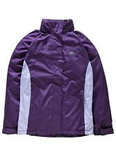 Trespass Ladies Purple Tarron II Jacket Size Extra Large