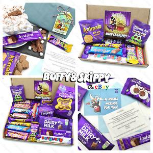 Personalised CADBURY Chocolate Sweet Hamper Dairy Milk Xmas Gift Box Present