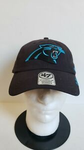 🔥🔥OFFICIAL CAROLINA PANTHERS NFL '47 CLEAN UP WOMENS ADJUSTABLE Hat🏈🏈