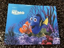 Disney Pixar Finding Nemo 2003 Portfolio 4 Lithograph Artwork Prints 11x14 New