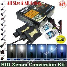 55W HID Conversion Xenon Kit H1 H3 H4 H7 H11 H13 9005/6 Hi-Lo Bi-Xenon Headlight