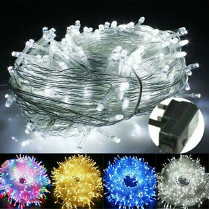 20-1000 LED Fairy String Lights Waterproof for Christmas Tree Garden In/ Outdoor