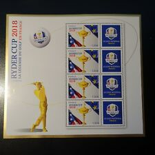 BLOC FEUILLET N°142 RYDER CUP 2018 N°5245 NEUF ** LUXE MNH