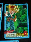 DRAGON BALL GT Z DBZ SUPER BATTLE POWER LEVEL CARDDASS CARD CARTE 600 JAPAN NM