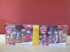 My little Pony Apple School Pals Royal Friend Spike Celestia Bonus Pack RARE