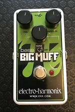 Electro Harmonix EHX Nano Bass Big Muff Fuzz Distortion Pedal