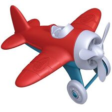 L@@K Green Toys Airplane Toy Baby Red AIRR-1026 Recycled Ships Global Plane NEW