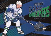 10/11 UPPER DECK VICTORY GAME BREAKERS HENRIK SEDIN CANUCKS *10057