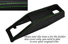 GREEN STITCHING SEAT BELT BINNACLE SKIN COVER FITS TRIUMPH STAG MK1 MK2 70-77