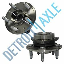 Both (2) New Rear Complete Wheel Hub and Bearing for 2008-2016 Cadillac CTS AWD