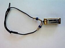 Real Playable Hohner Mini Removable Harmonica Bracelet in Key of C Model 38-Br