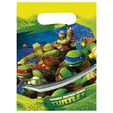 Teenage Mutant Ninja Turtles Birthday Party Supplies Loot Lolly Treat Bags (Pk8)