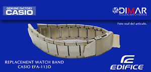 Replacement Original Watch Band CASIO EDIFICE EFA-113D. NOS