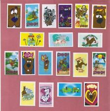 SCOOBY-DOO-STICKERS-CANDY-STICK-PACKETS-DISPLAY-BOX