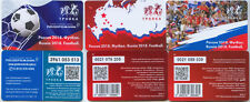 LIMITED EDITION 3 Valid Transport Ticket Moscow -FIFA World Cup Russia 2018 Fans