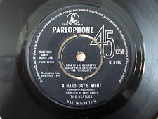 "The Beatles A Hard Day's Night 1N 1N KT UK 7"" Parlophone R 5160 1964 VG"