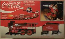 Coca-Cola  Lionel Train G-Gauge 7-11488 Chrismas New in Box Coke