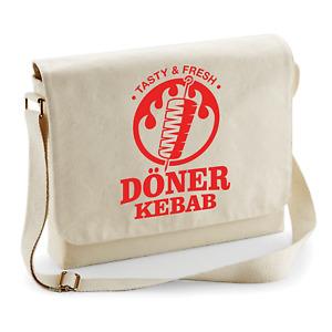 Doner Kebab Doner Fast Food Snack Turkish Shawarma Shoulder Bag Messenger Bag
