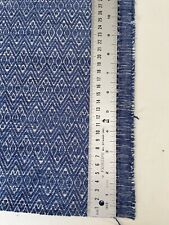 Romo Aryn Upholstery Weight Chenille Fabric 93cm X 135cm blue