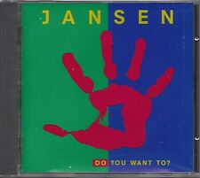Jansen - Do You Want To ?   cd