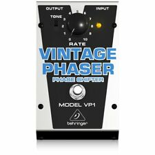 Behringer VP1 - Effetto Phaser Vintage a pedale per strumenti musicali