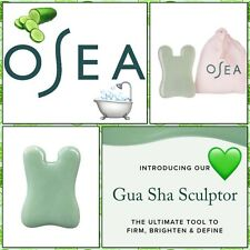 New Osea Malibu Gua Sha Sculpture Jade Skin Care Tool Relieves Muscle Tension!