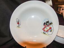 Vintage Child's Nursery Feeding Bowls