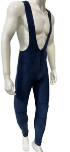 Myego Winter Cycling BIB Tights with GIT Pad in Navy Blue by Santini