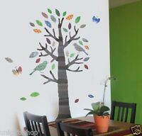 Tree WALL DECAL Room Stickers Bedroom Girls Boys Nursery Living Home Decor